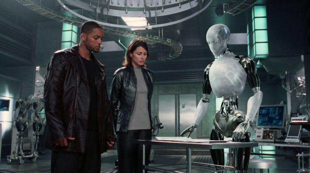я робот главный актер